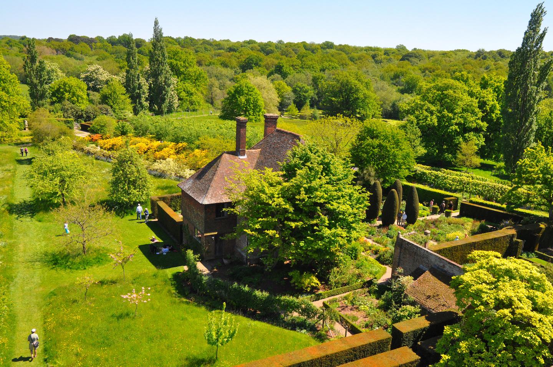 Tower views Sissinghurst classic English Garden