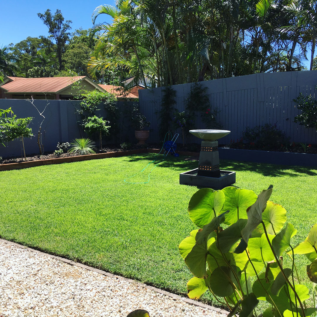 Garden Maintenance keeping this beautiful lawn in great condition protects your property value.