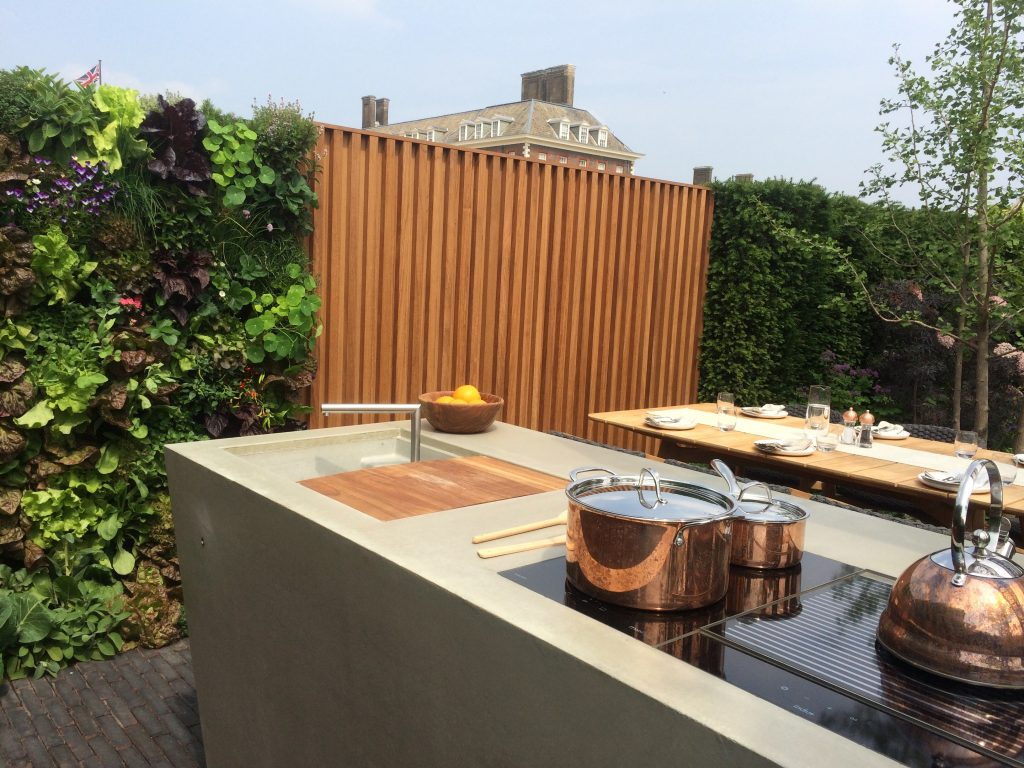 Landscaping Ideas Chelsea Flower Show Outdoor Kitchen ideas.