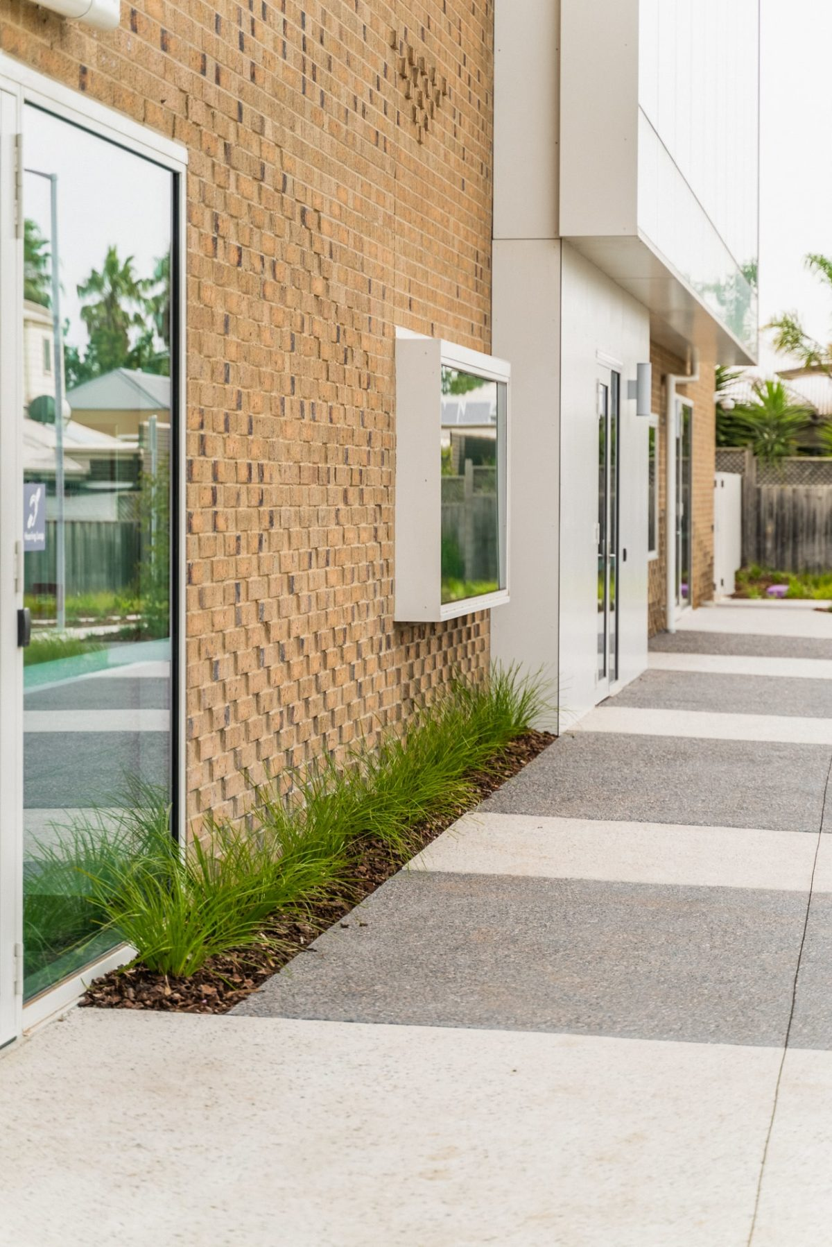 Concrete Path in Exposed Aggregate Concrete