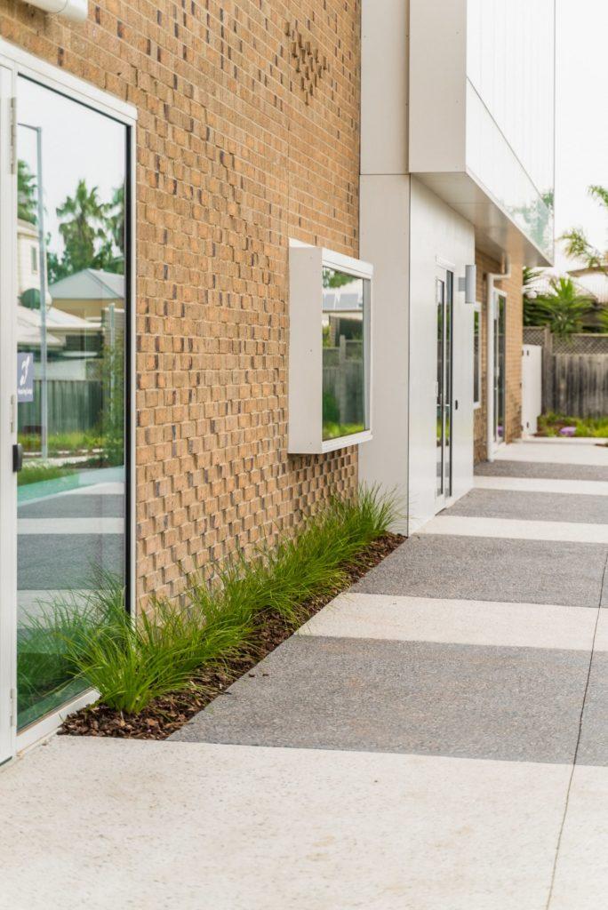 Concrete Path in Exposed Aggregate Concrete