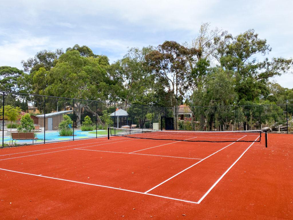 Euroclay tennis court Balwyn Community Centre