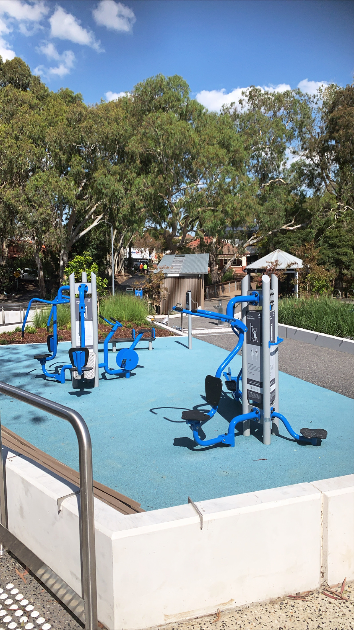 Balwyn Landscaping. Outdoor Gym Equipment ant Balwyn Community Centre