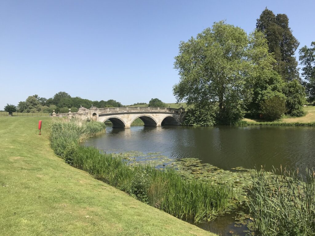 Lancelot Capability Brown Landscaping at Compton Verney.