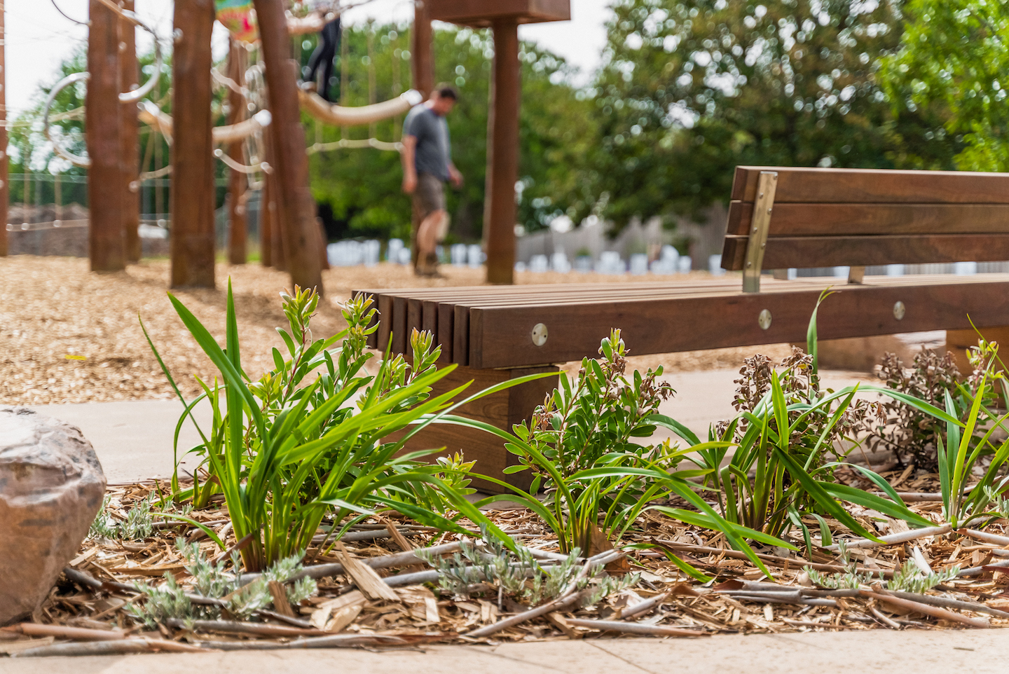 Commercial Landscaping Public Park Romsey Ecotherapy Park