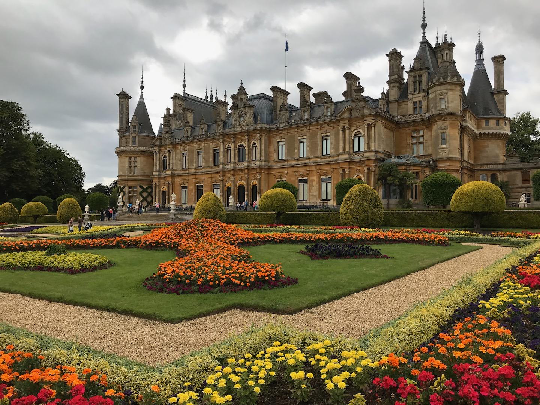 Formal Garden at Waddesdon.