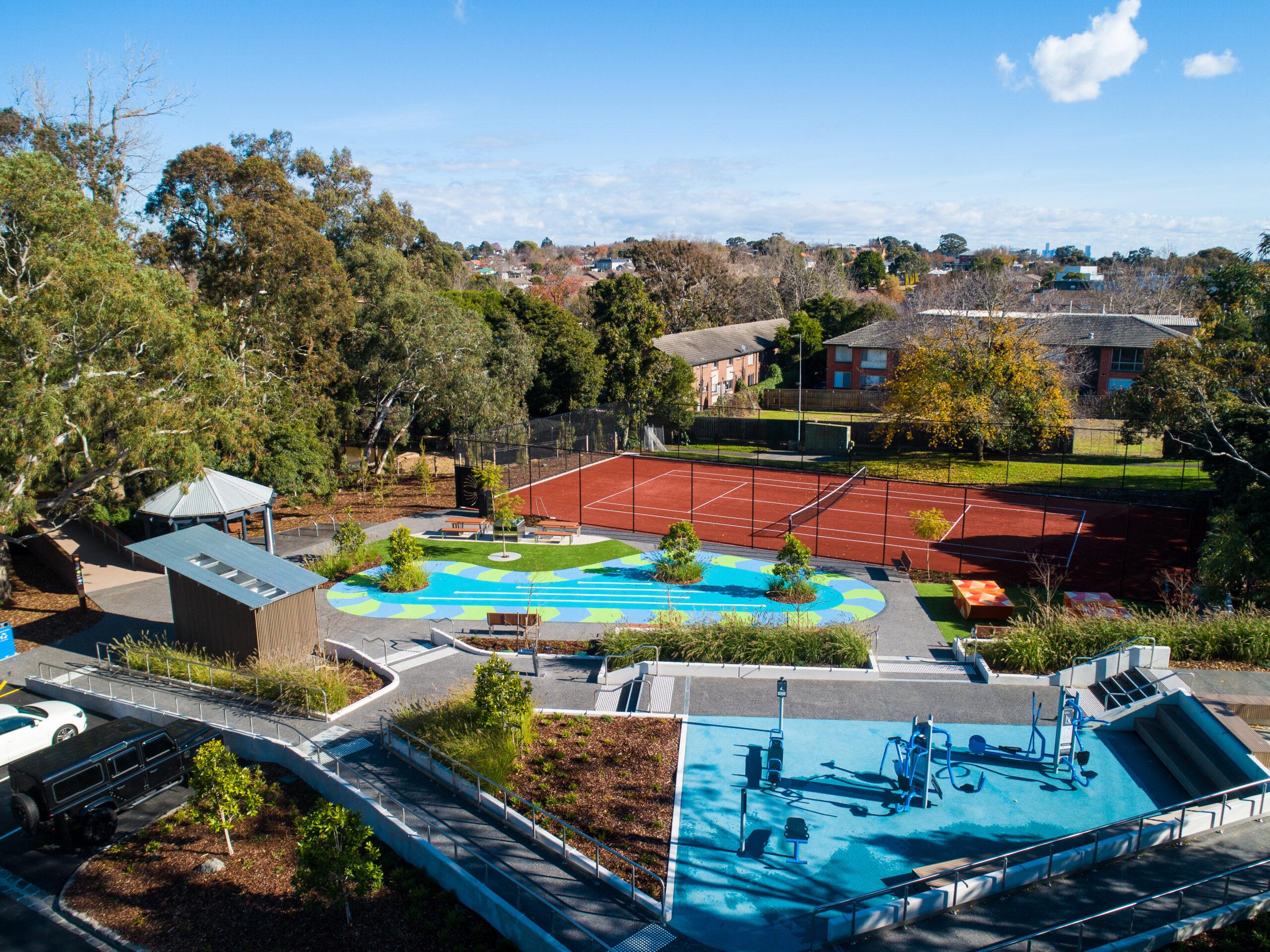 Outdoor Sports facilities Balwyn Community Centre
