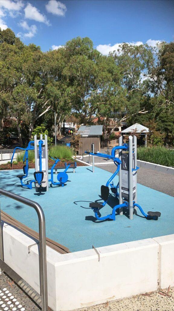 Outdoor Gym Installation Balwyn Community Centre
