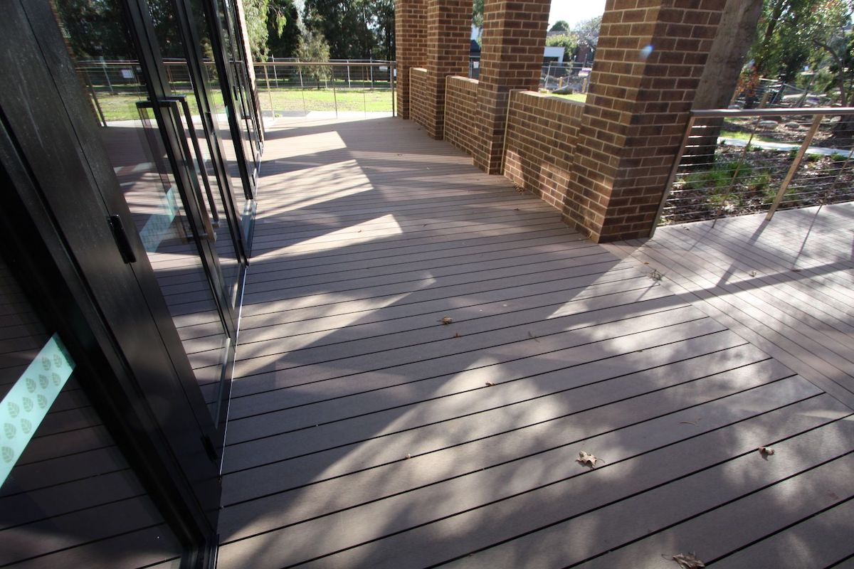 CleverDeck Composite Recycled Plastic decking from Futurewood.