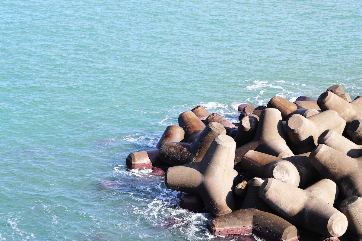 The concrete made with Blast Furnace Slag also offers a lower pH value which is beneficial for artificial reefs