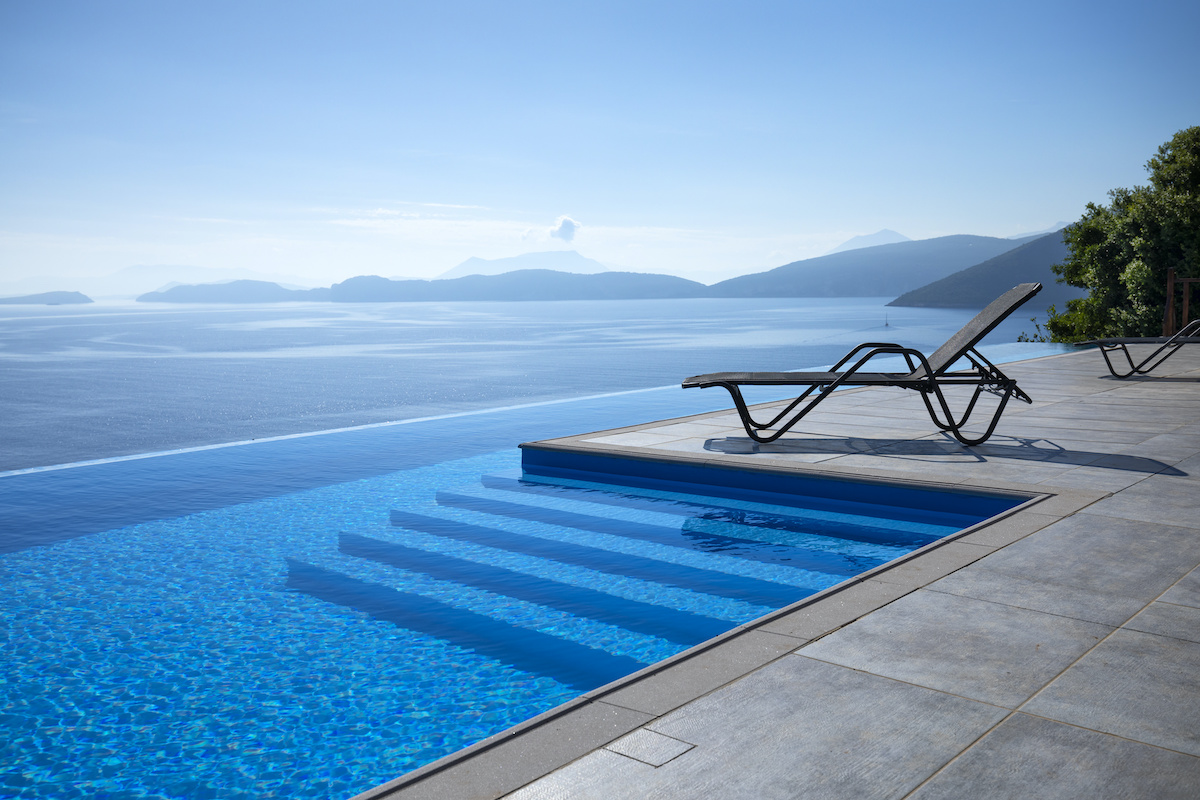 Infinity edges swimming Pool designs
