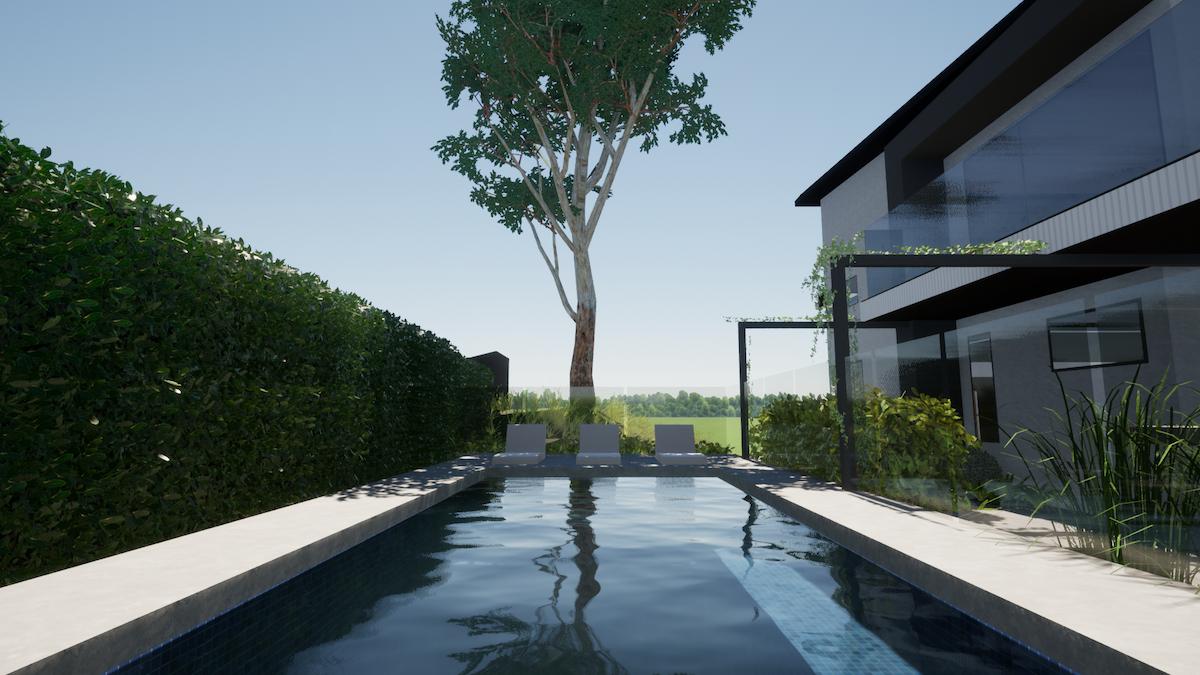 lap pool design.