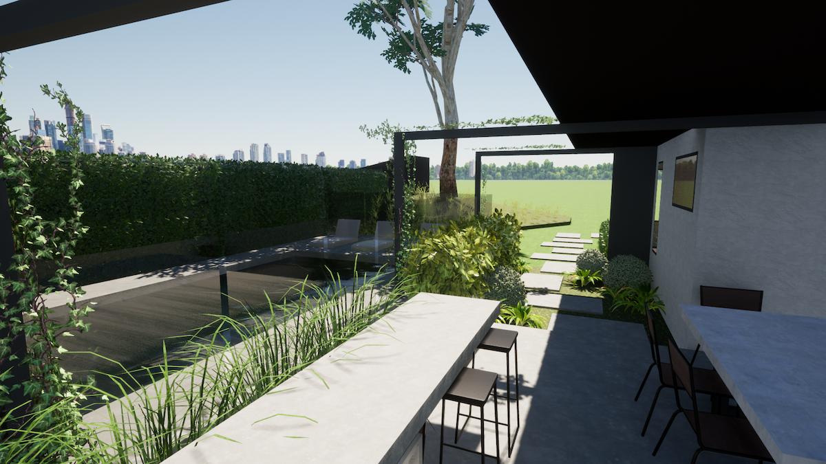 Outdoor Entertainment Area Design