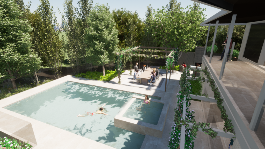 By designing the swimming pool using 3D CAD all of the material thickness and strength requirements can be checked prior to the pool construction starting.
