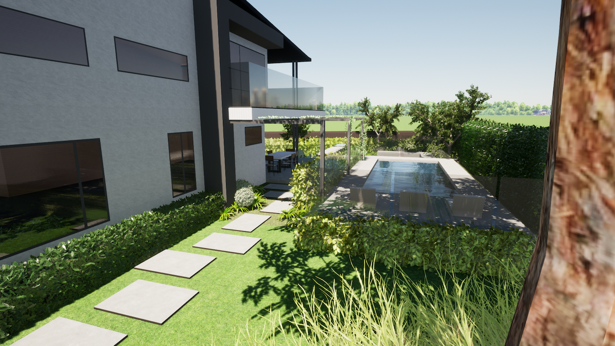 pool and landscape design package