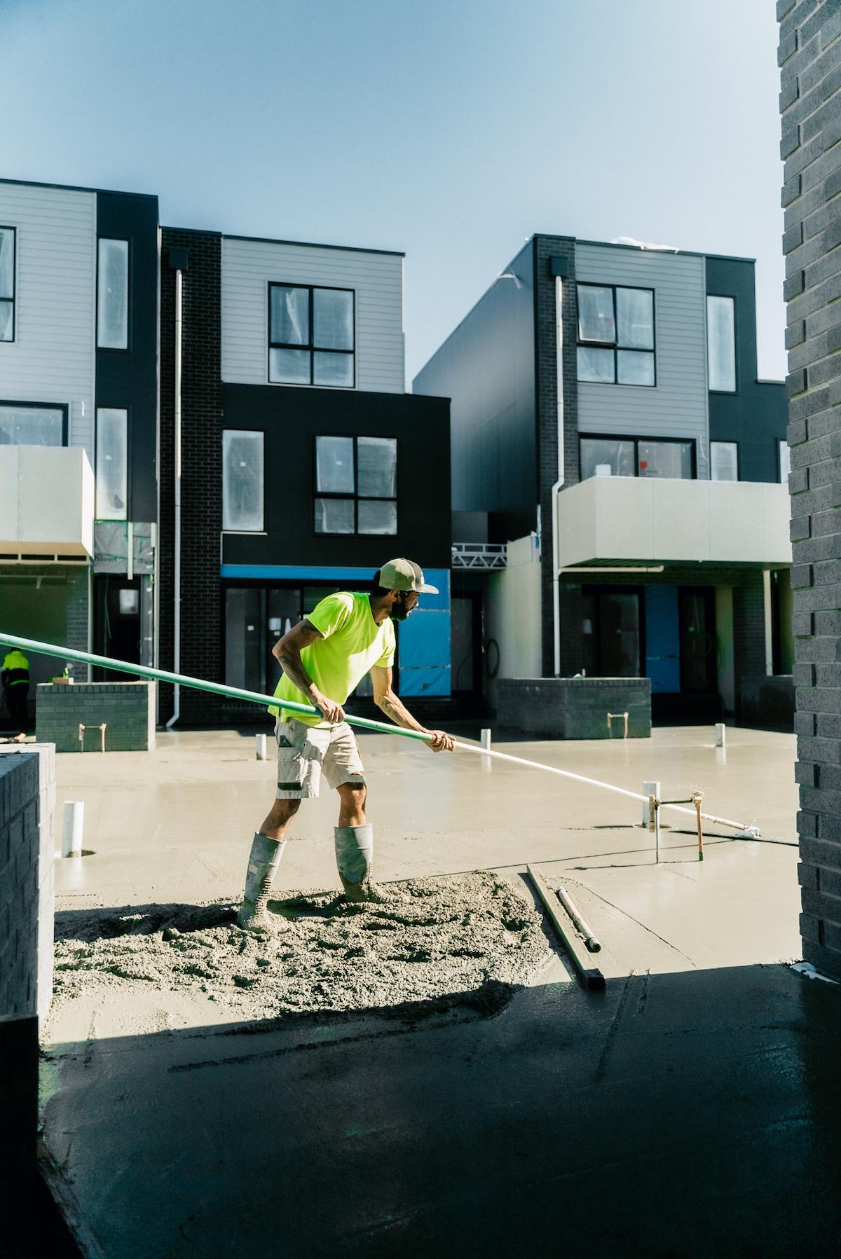 landscaping concrete